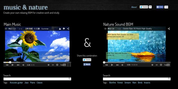 music & nature