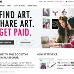 Society6でCurator Program(キュレータープログラム)が開始!アート作品を紹介してお金が稼げる!?