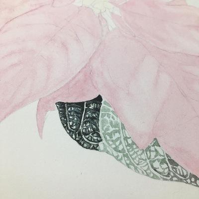 葉っぱ 水彩画
